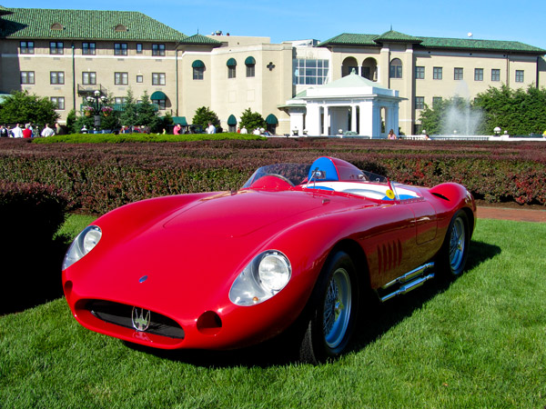 This 1957 Maserati 300S received the Rolling Sculpture award.