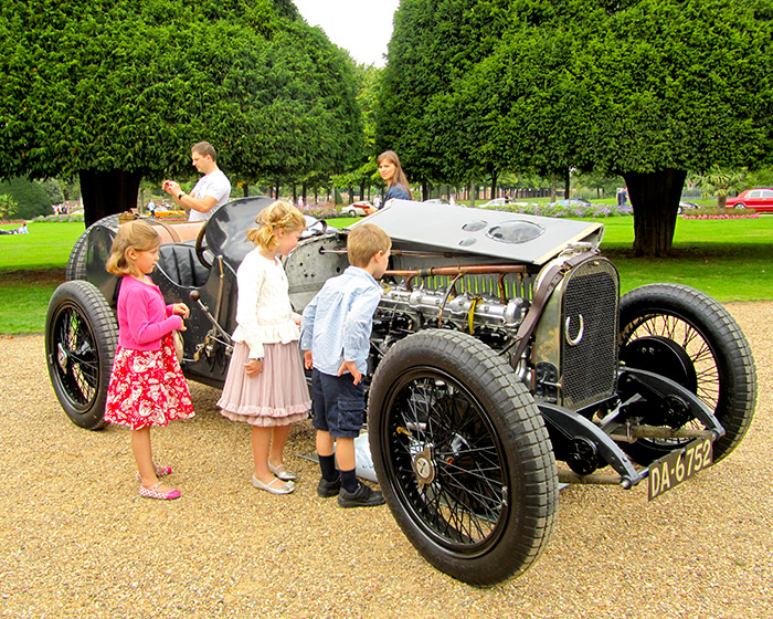 This legendary 1922 Sunbeam Tourist Trophy Grand Prix Car remains one of the finest Sunbeam racing cars ever built.