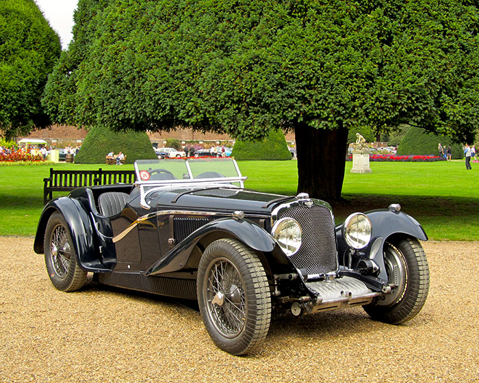 This 1934 Triumph Dolomite 8C SS Corsica Roadster received The Royal Automobile Club Spirit of Motoring Award