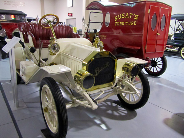 This 1910 Model 10 was Buick's competitor to Ford's industry leading T.