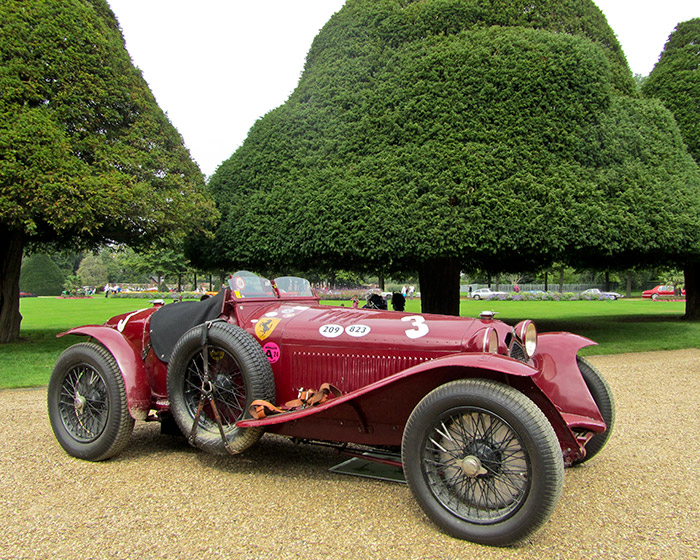 This 1933 Alfa Romeo 8C 2300 Monza is one of the most desirable pre-war racing cars in existence.