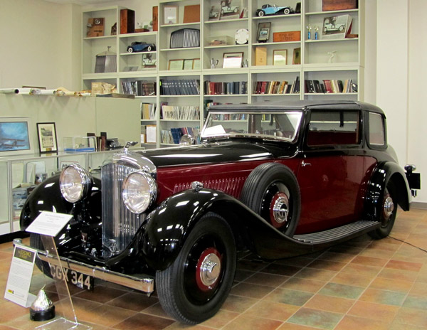 The Foundation houses a significant reference library and historical collection of both Rolls Royce and Bentley automobiles.