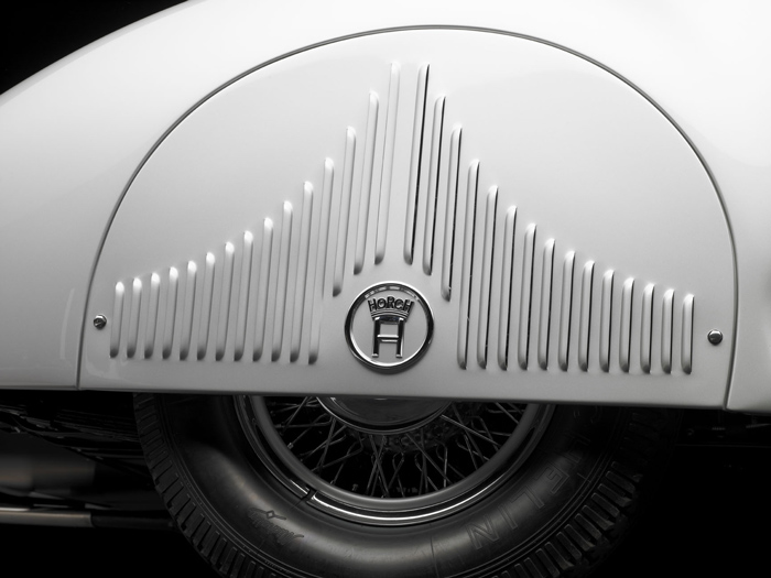 Michael Furman image is a 1938 Horch 853A from his book Automotive Jewelry, Volume One