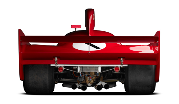 Michael Furman image from the Simeone Foundation's The Spirit of Competition and is their 1975 Alfa Romeo Tipo 33