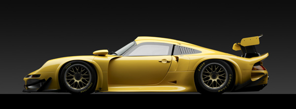 Michael Furman's dramatic image of the Porsche 911 GT1 captures the beauty of the beast.