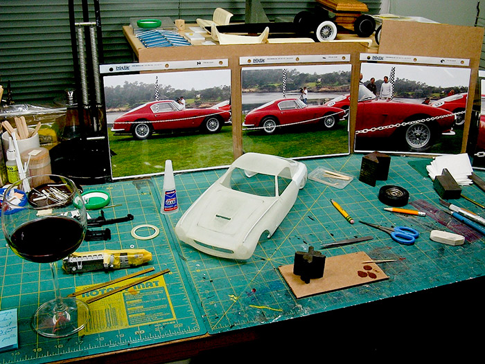 Marshall Buck brings us the second installment of his construction of the miniature Ferrari 250 SWB.