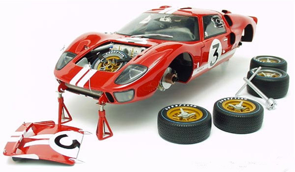 Amon McLaren LeMans Ford GT40 MKII by GMP