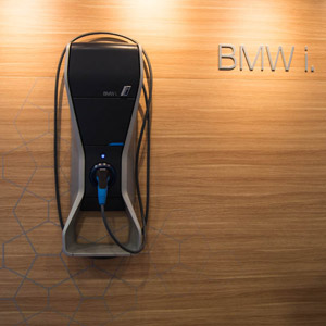 BMW i8 wall charger