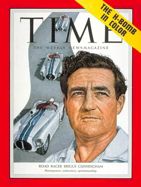 Briggs Cunningham Time Magazine cover