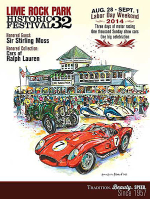 Lime Rock Park Historic Festival poster