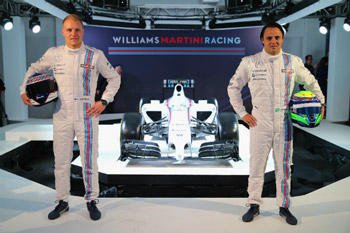 Massa and Bottas