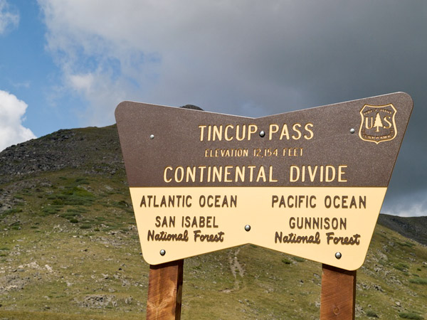 Tincup PAss Continental Divide