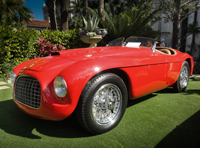 Chuck Schwager the Cavallino Ferrari gathering in West Palm Beach 2012