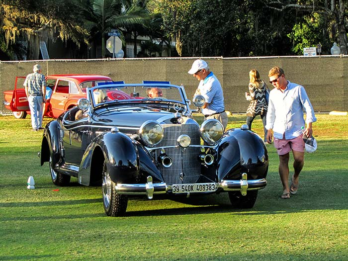 1939 Mercedes 540K Special Roadster, Best of Show, First Place