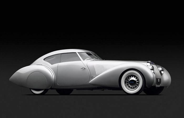 1937 Delage Coupe, by Michael Furman