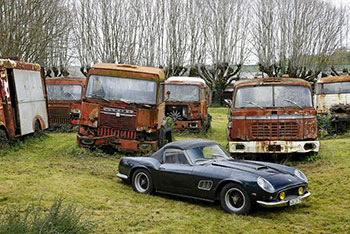 Ferrari 250 GT California, French Barn Find