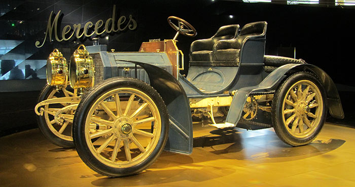 1902, the oldest Mercedes still in existence