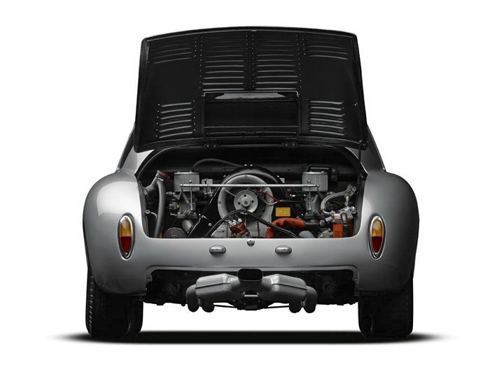 Michael Furman's image of a 1961 Porsche 356 Abarth, with rear lid open