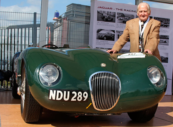 Norman Dewis, OBE, and Jaguar Type C