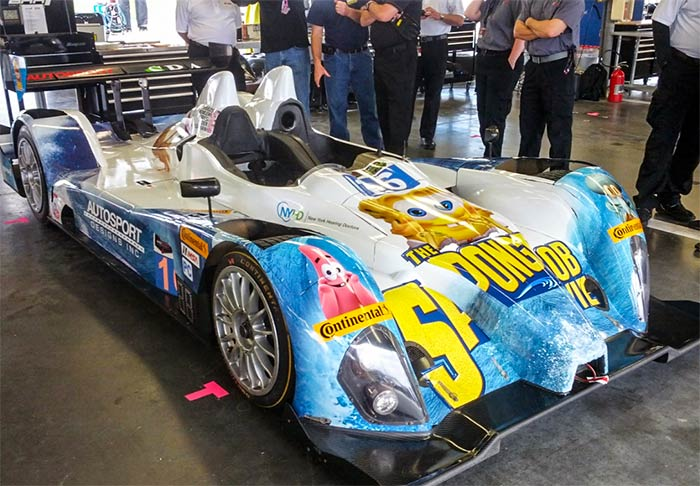 LMP Car #16, Daytona