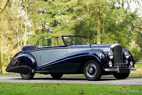 1950 Bentley Mk VI Park Ward Foursome Coupe