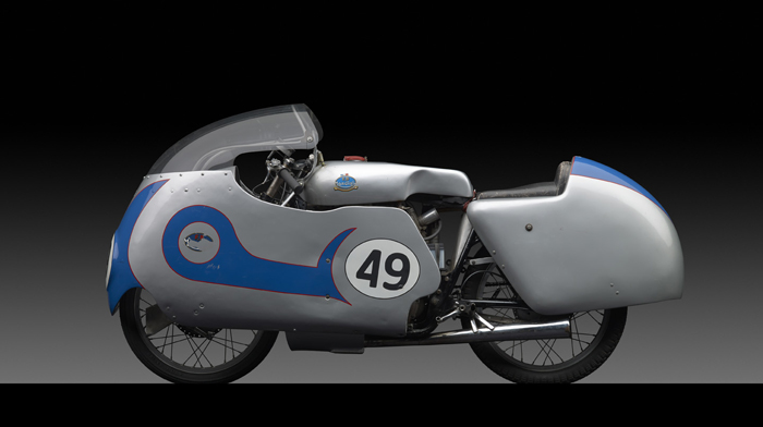 1956 FB Mondial 250 Bialbero GP, by Michael Furman