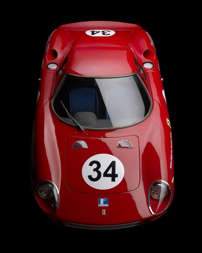 1965 Ferrari 250 LM 6107, photographed by Michael Furman