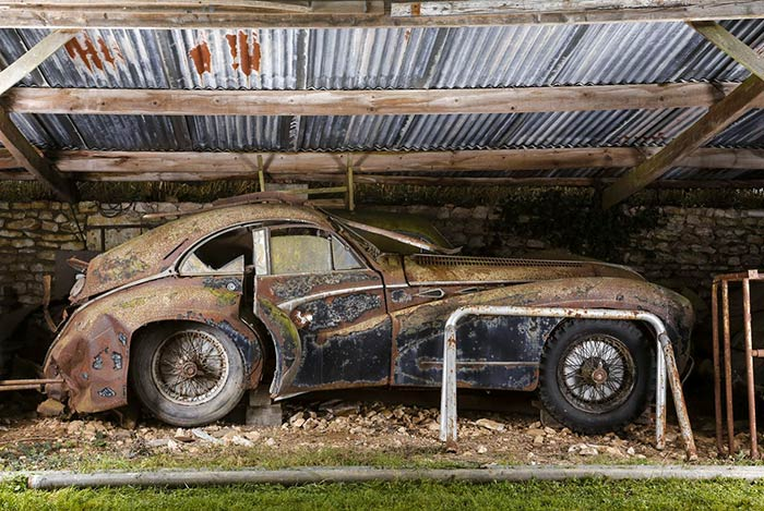 The now-legendary Artcurial French Barn Find