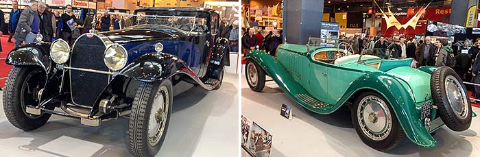 Cars at Retromobile Paris 2015, by Larry Carlson