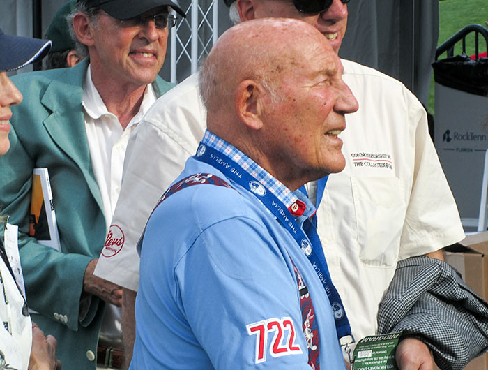 Sir Stirling Moss, OBE, by Sandy Cotterman, Amelia Island Concours