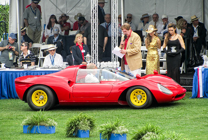 1965 Ferrari Dino 166P/206P, by Sandy Cotterman, Amelia Island Concours