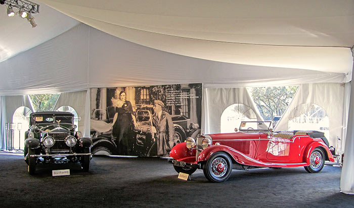1930 Rolls-Royce Phantom I Torpedo Transformal Phaeton, by Sandy Cotterman, Amelia Island Concours