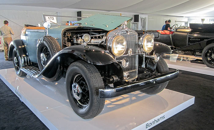 1932 Stutz DV-32 Super Bearcat, by Sandy Cotterman, Amelia Island Concours