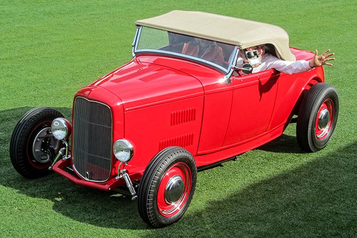 1932 Ford Highboy Roadster, by Sandy Cotterman, Amelia Island Concours
