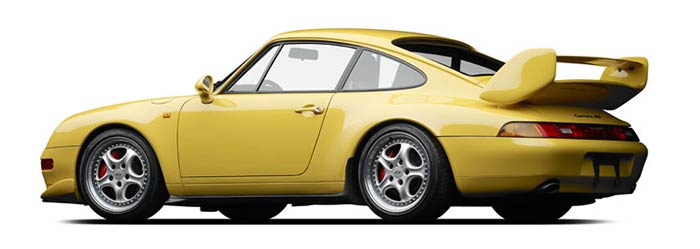 Michael Furman, photo of 1995 Porsche Carrera RS