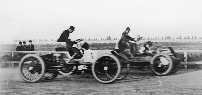 First automobile race.