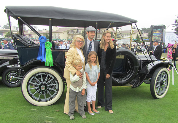 Always a winner, this 1912 Packard 307 Passenger Touring still enjoyed by Phil Hill's family, is a wonderful tribute to a great legend.