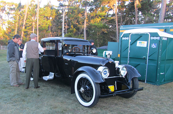 Bought new by the current owner's grandfather, the 1921 Duesenberg A Bender Coup (chassis 601) is a car of many firsts.
