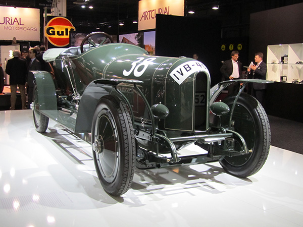 One in the pair - the Prince Heinrich race car.