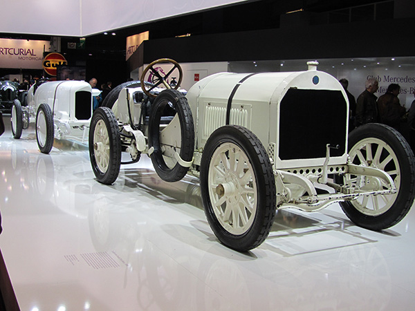 The car to drive in the 1908 French Grand Prix - a Benz.