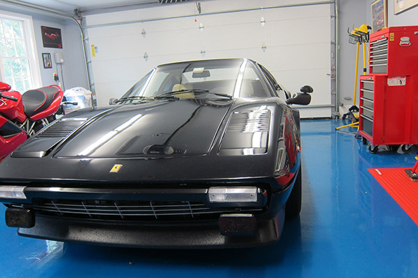 Upgrading a 1978 Ferrari 308 GTS Mirrors