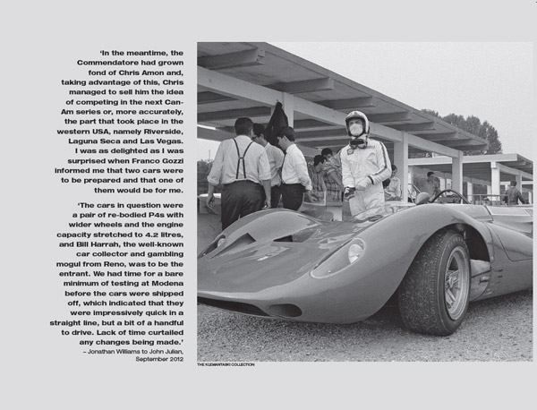 1967: Chris Amon, Scuderia Ferrari and a Year of Living Dangerously by John Julian