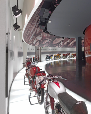 Museo Ducati by Chris Jonnum. Photography by Peter Harholdt. Bull Publishing