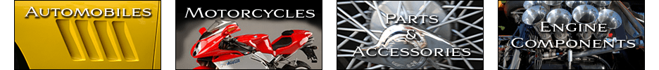 MMR Goods & Services Directory: Automobiles, Motorcycles, Parts, Accessories, Engine Components