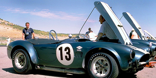 Tom Payne's 289 Factory Cobra turned out to be no match for the 