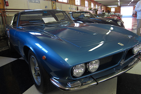 Iso Grifo at The Farm